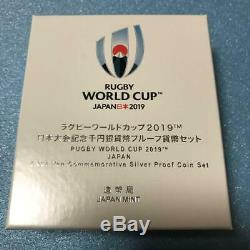Rugby World Cup 2019 commemorative Coin 1000 YEN Box in Case 50000 Limited