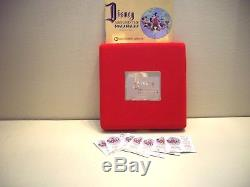 Set of 7 Rarities Disney Around The World. 999 Silver Coins with Display Box