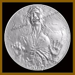 Star Wars $2 Proof 1 Oz Silver Coin, 2016 Han Solo Classic Niue Disney With COA