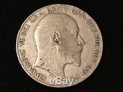 T2 World Coin Great Britain Crown, 1902 FREE Shipping & SELLER Paid Insurance