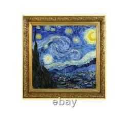 THE STARRY NIGHT TREASURES PAINTING 2020 1 oz $1 Pure Silver Coin NIUE