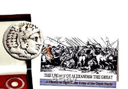 The Legacy of Alexander the Great, A History in 8 Coins of the Greek World, Boxed