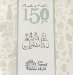 The Wonderful World Of Beatrix Potter 2016 UK Silver Proof Coin