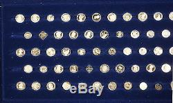 The World's Greatest Coins In Miniature 97 Silver Coins Set