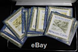 The World's Greatest Conquerors Official Sterling Silver Coins Collection(OOAK)