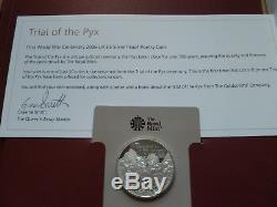 Trial Of The Pyx First World War Centenary 2016 UK £5 Silver Proof Poetry Coin