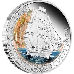 Tuvalu 2012 1$ Ships that changed the World Cutty Sark 1Oz Silver Coin
