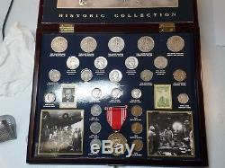 U. S. Commemorative Gallery World War 2 Historic Coin Collection 1941-1945 & CASE