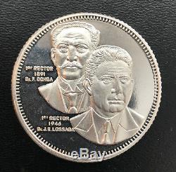 World Coins Venezuela 1300 Bolivares 1991 Silver Coin Low Mintage Details