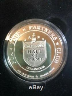 World Golf Hall Of Fame 12 Piece. 999 Fine Silver Compete Set Coins All In Proof