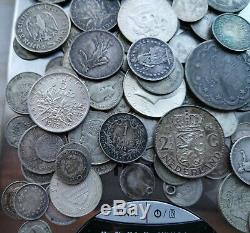 World Lot of 513 Grams of Silver coins 18.09oz