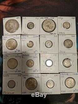 World Silver My World Silver Coin Collection 42 Coin Lot