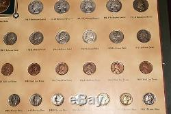 World War II Coin Medal Collection 68 US Coins of WW2 with Cherry Case Silver