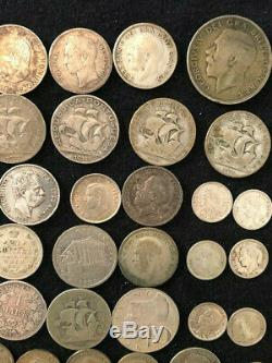 World silver coins lot 60 silver coins